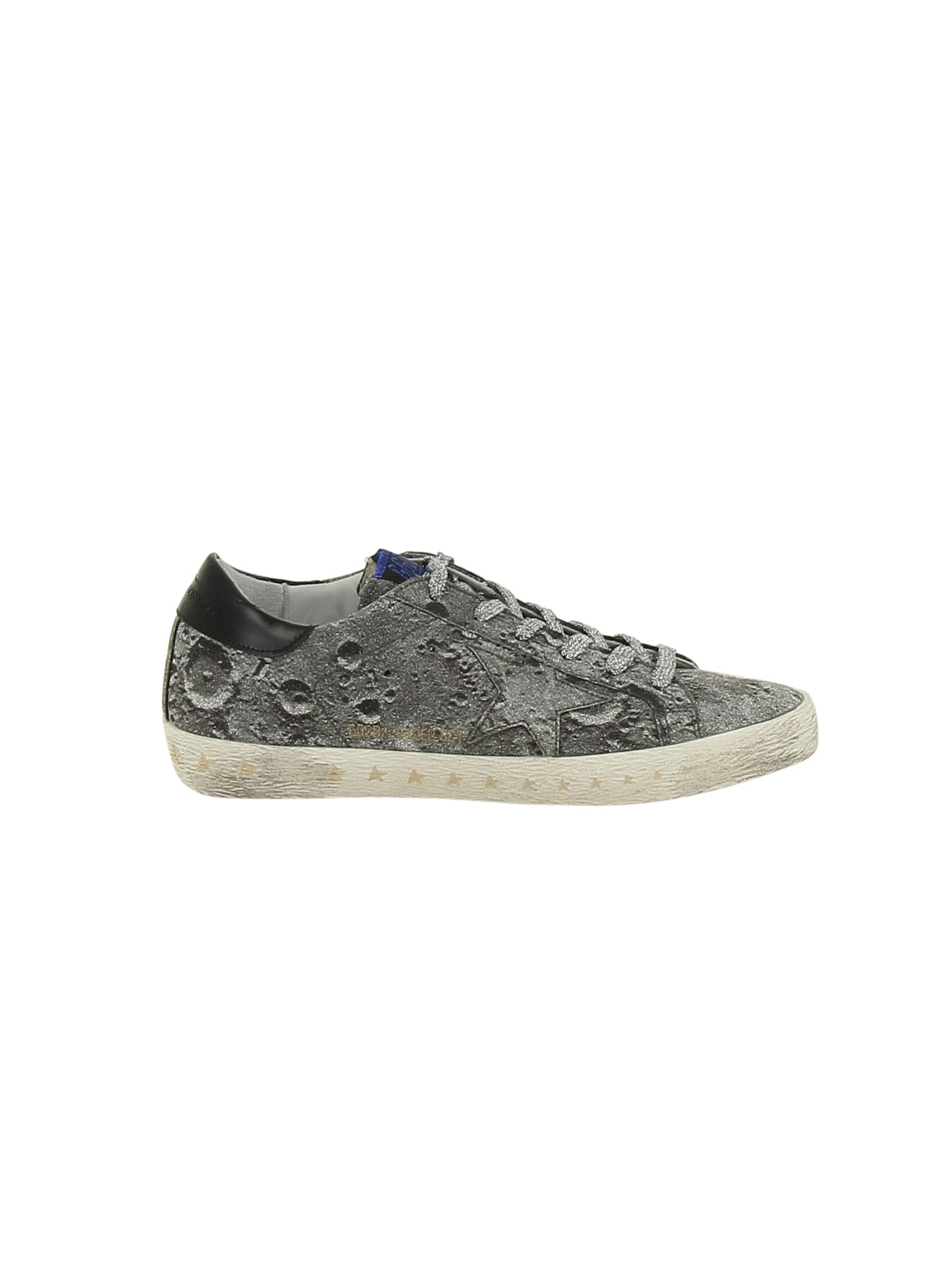 Golden Goose Deluxe Brand Glitter Superstar Sneakers