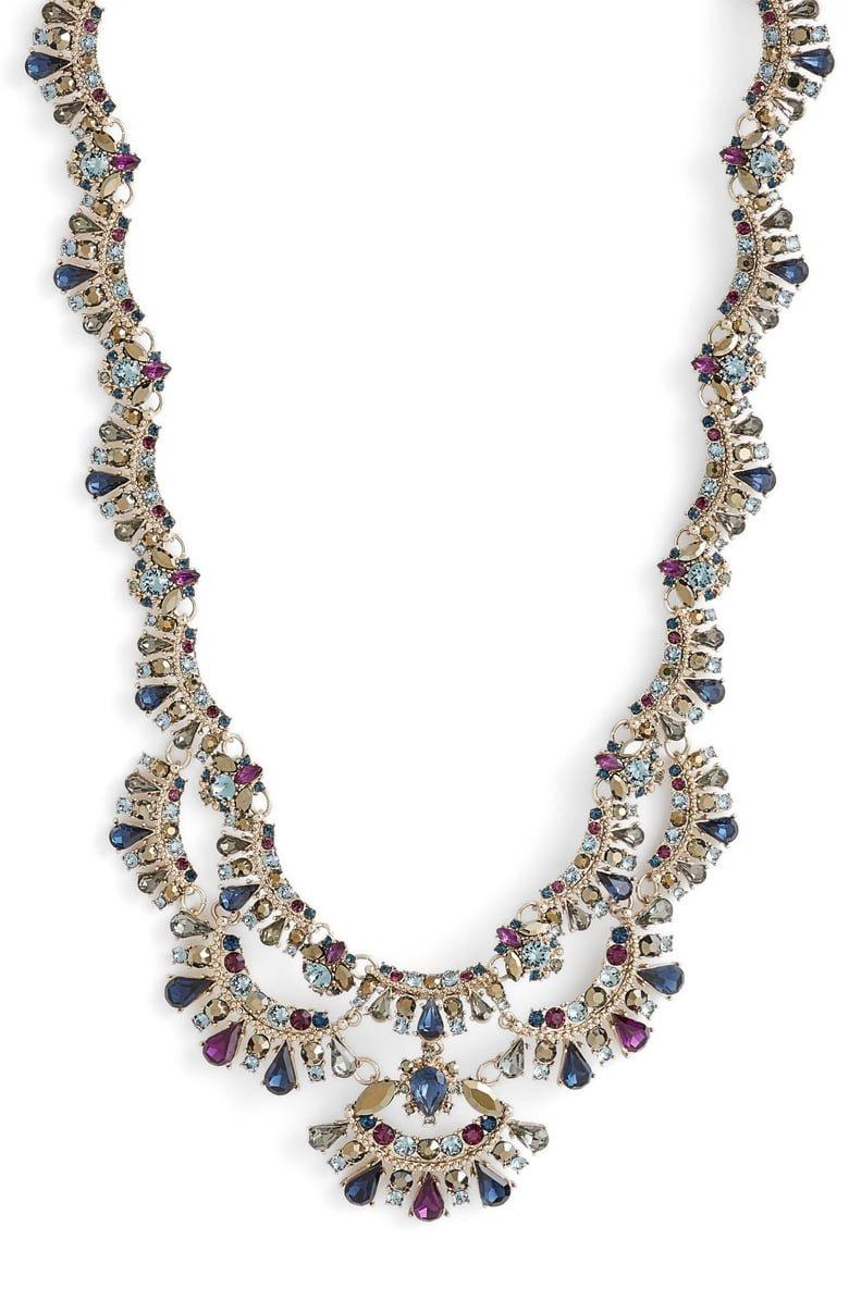 Marchesa Crystal Collar Necklace   Nordstrom