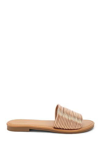 Faux Leather Sandals   Forever 21