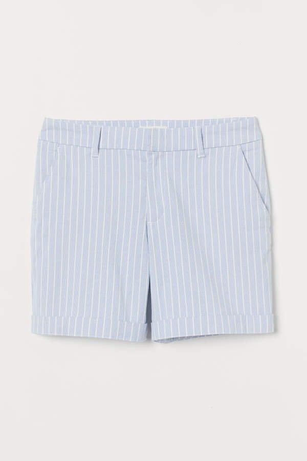 Short Chino Shorts - Blue