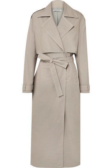 ANNA QUAN   Inez cotton-canvas trench coat   NET-A-PORTER.COM