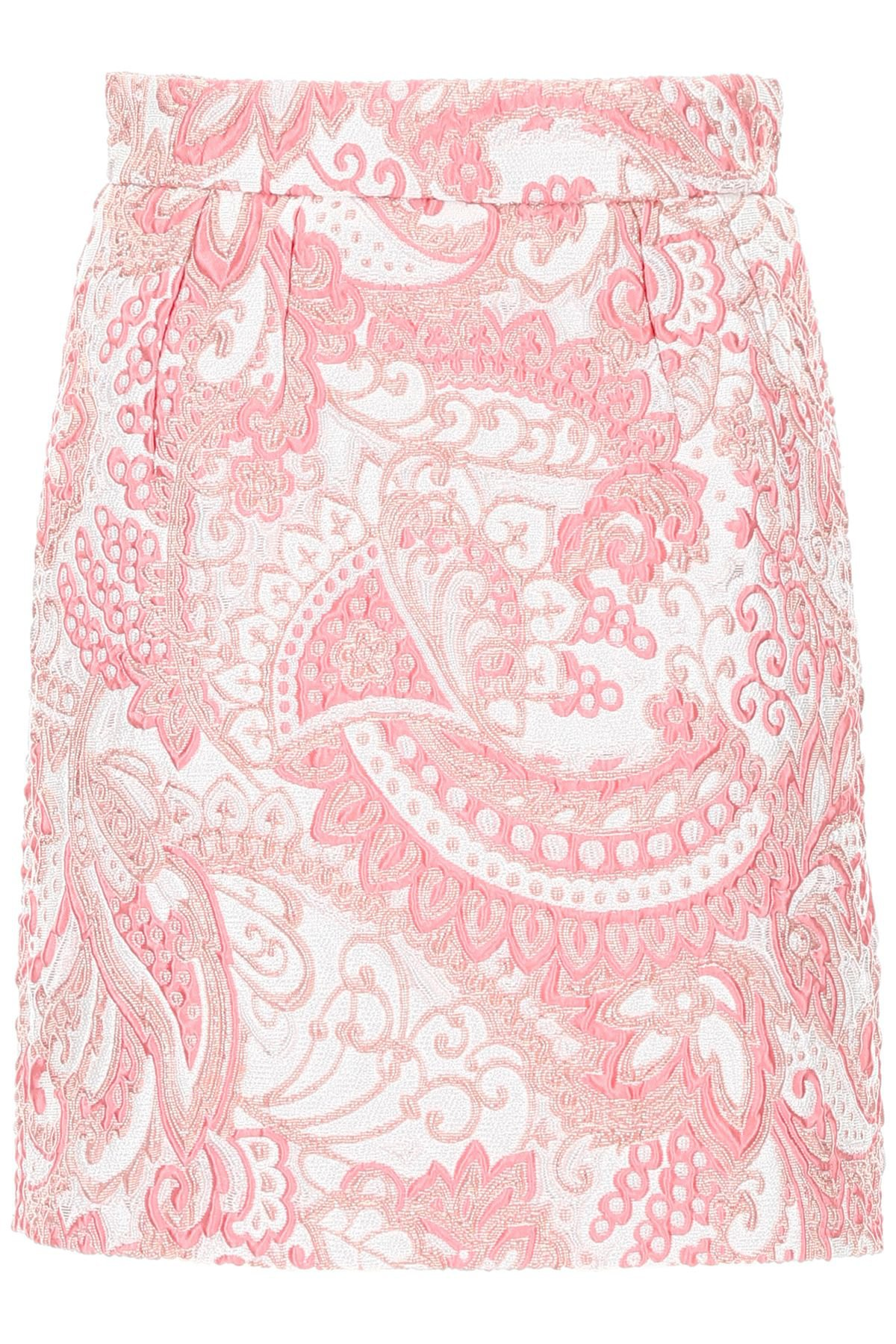 Dolce & Gabbana Jacquard Mini Skirt