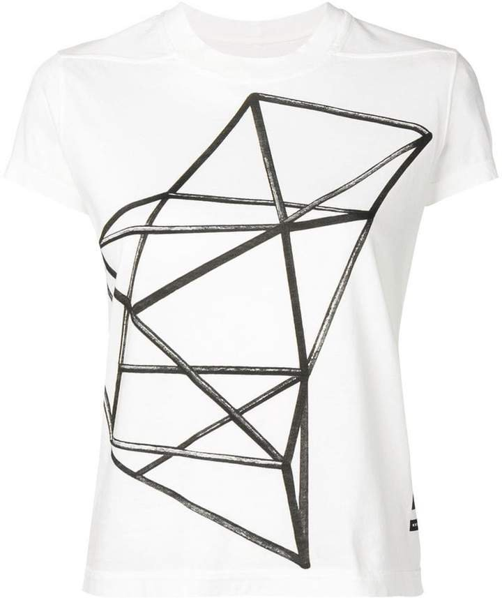 graphic geometric print T-shirt