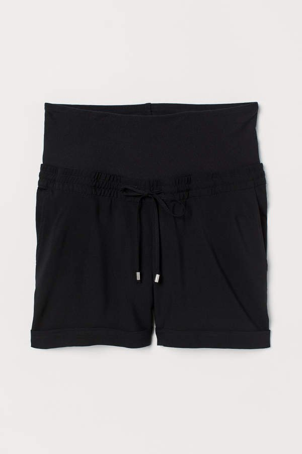 MAMA Short Shorts - Black