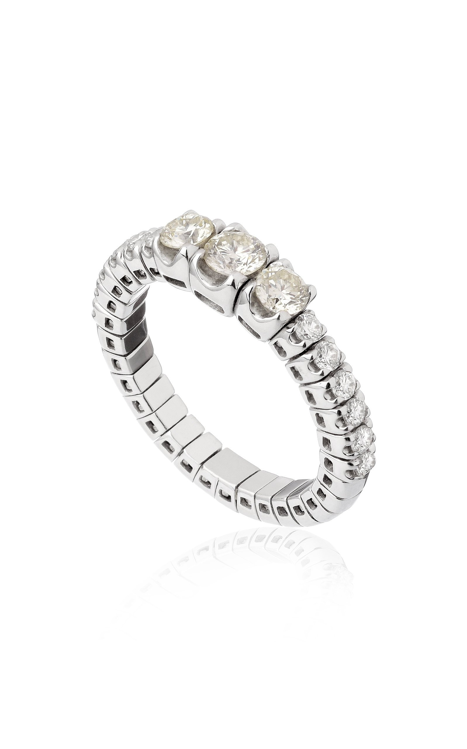 Eera Jessica Ring In White Gold