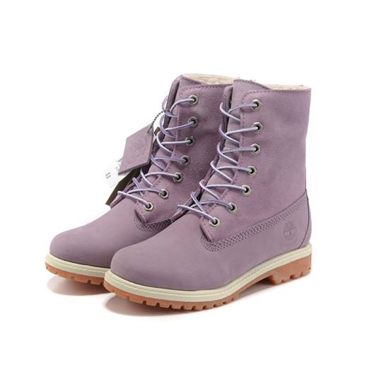 Timberland Women 6 Inch Winter Boots Purple, Timberland Outlet, Timberland Shoes For Men