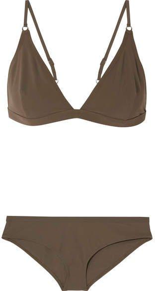 Edeah Triangle Bikini - Army green