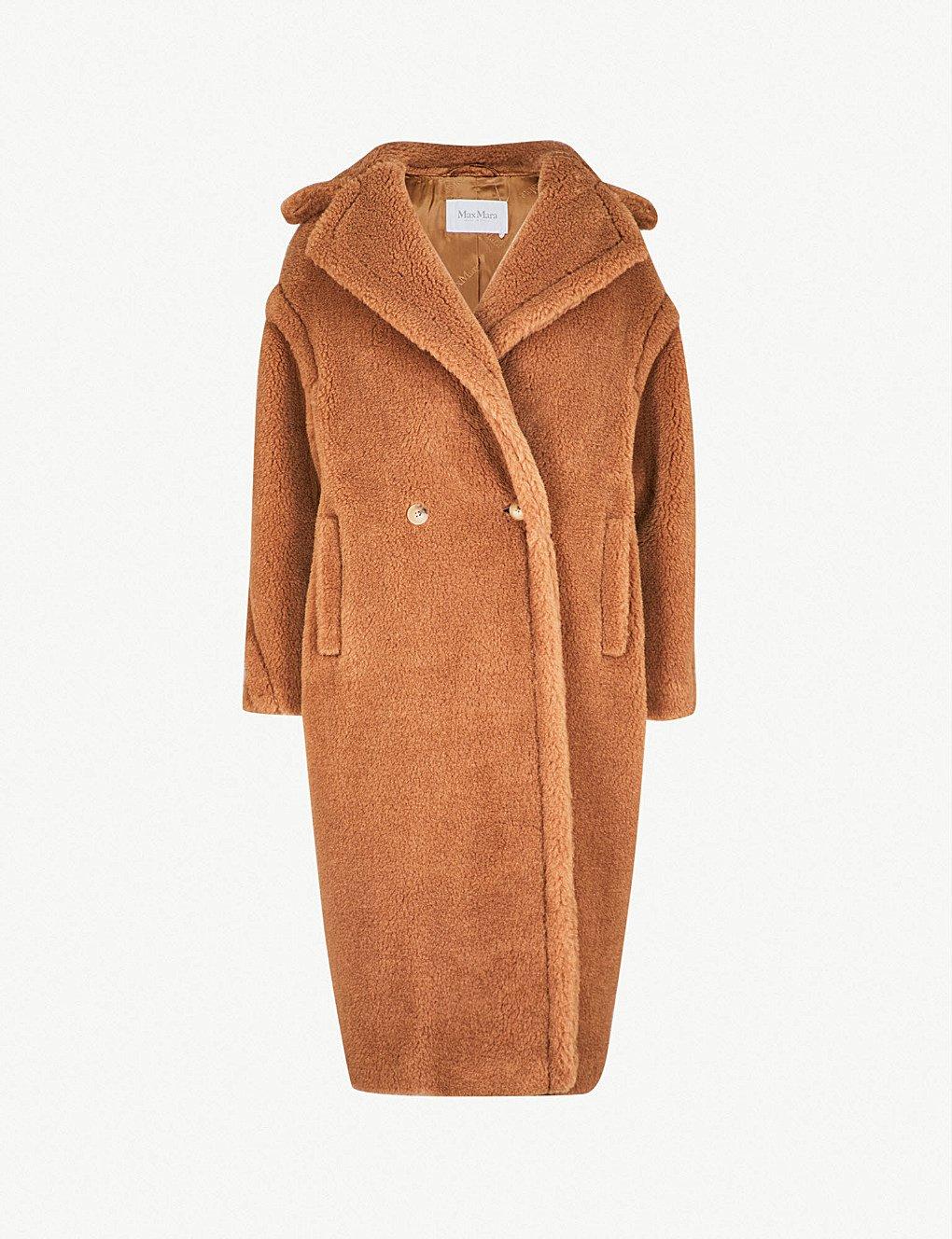 MAX MARA - Teddy camel-blend coat   Selfridges.com