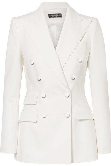 Dolce & Gabbana | Doppelreihiger Blazer aus einer Wollmischung | NET-A-PORTER.COM