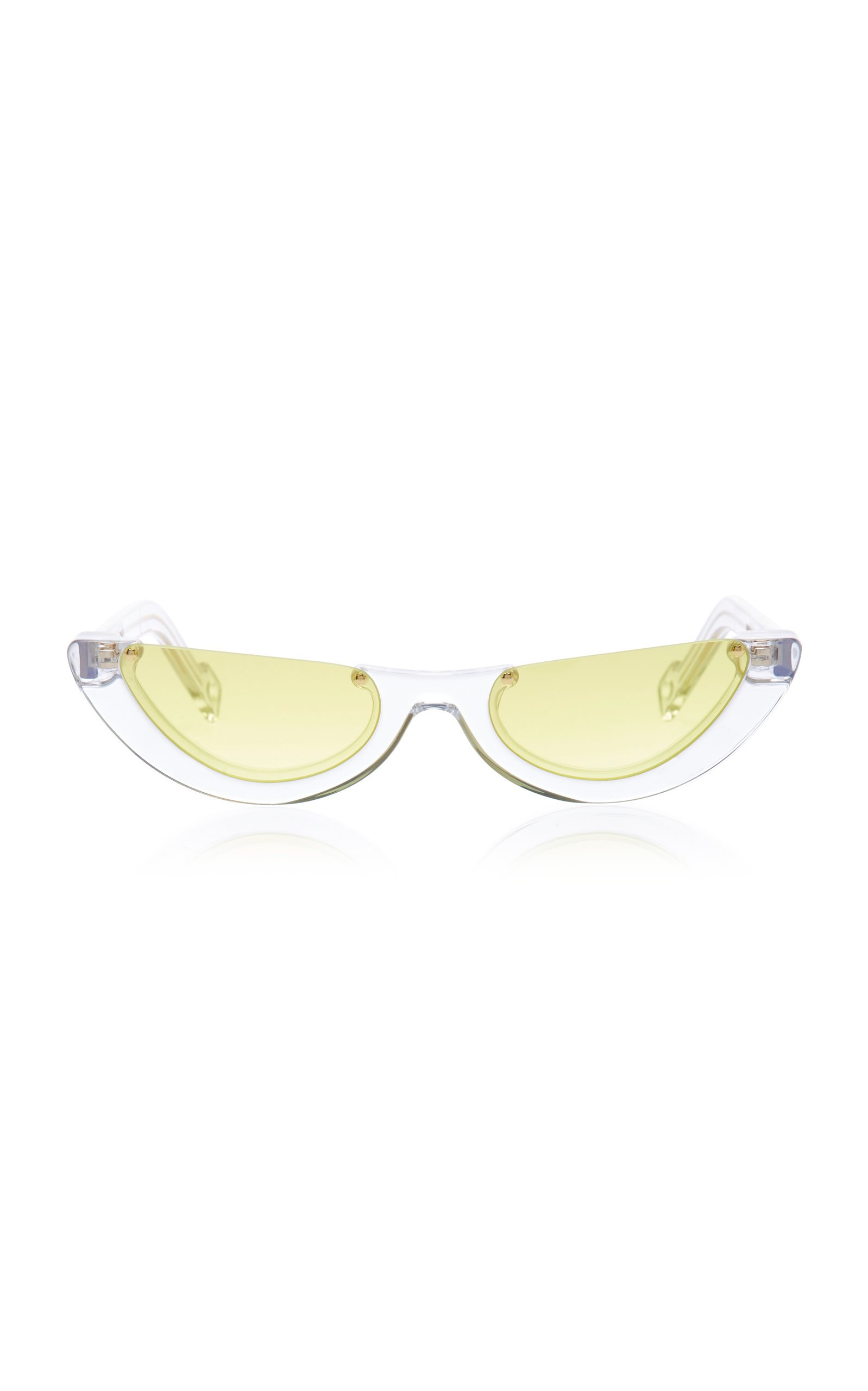 PAWAKA Empat Cat-Eye Acetate Sunglasses