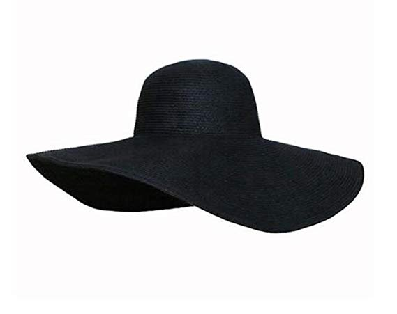 Black Large Brim Sun Hat