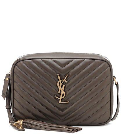 Lou Camera leather crossbody bag