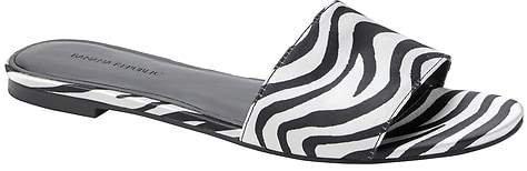 Satin Slide Sandal