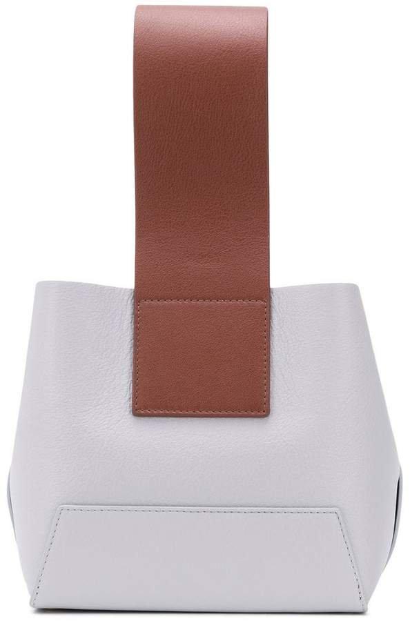 Yuzefi top handle tote bag