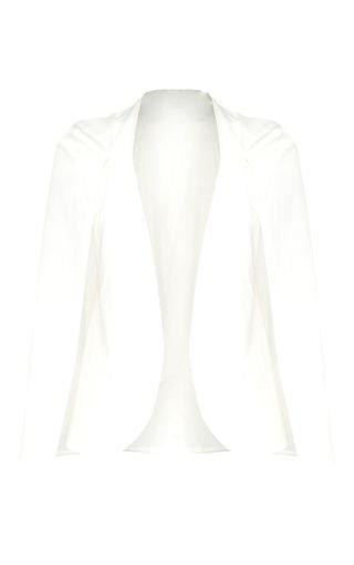 White Cape Blazer | White Cape Blazer | PrettyLittleThing