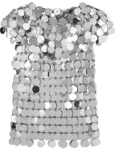 Sequined Top - Silver