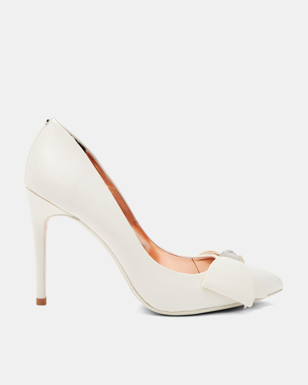 Bow detail courts - Ivory | Shoes | Ted Baker UK