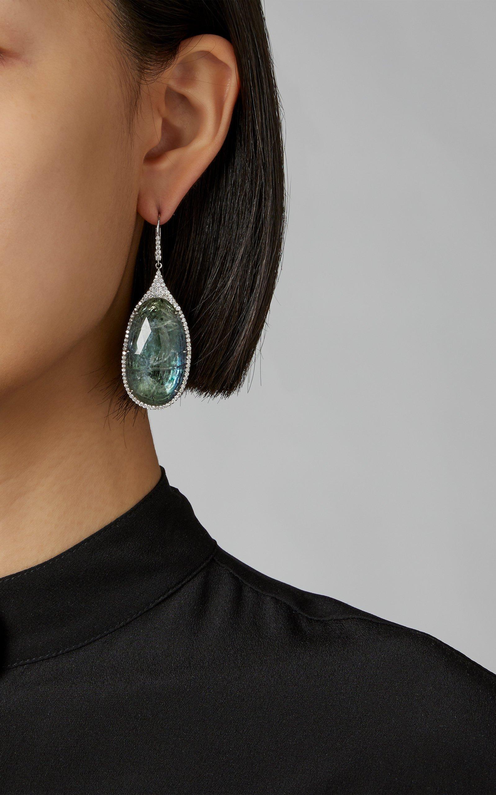 Amrapali Tanzanite Drop Earrings
