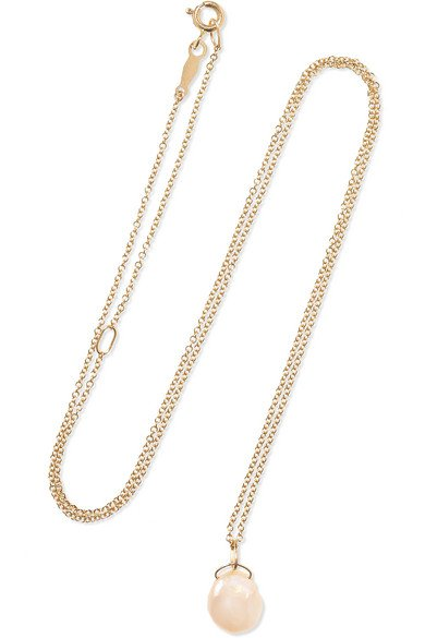 Catbird | Mermaid's Treasure 14-karat gold pearl necklace | NET-A-PORTER.COM