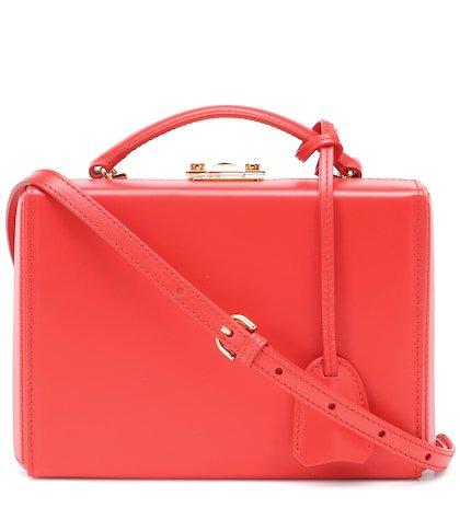 Grace Box Small leather shoulder bag