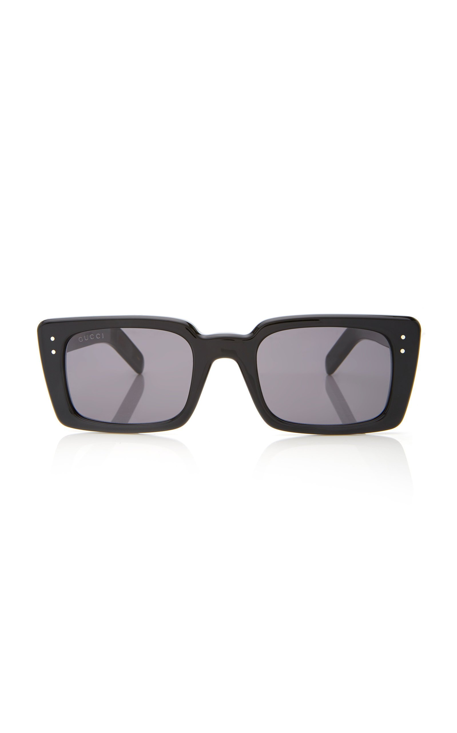 Gucci Two-Tone Square-Frame Acetate Sunglasses