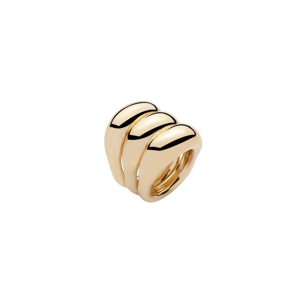 Brass Rings | Triple Tube Ring – Jennifer Fisher