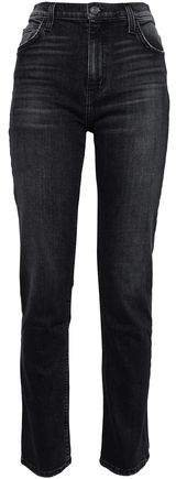 The Stovepipe Torpedo High-rise Slim-leg Jeans