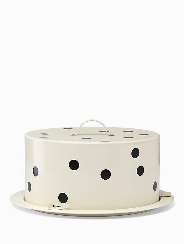 Deco Dot Cake Carrier | Kate Spade New York