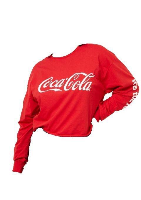 Red coca cola shirt polyvore moodboard filler | pngs in 2018 | Pinterest | Coca cola shirt, Polyvore and Clothes