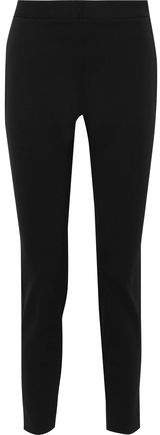 Stretch-cady Slim-leg Pants