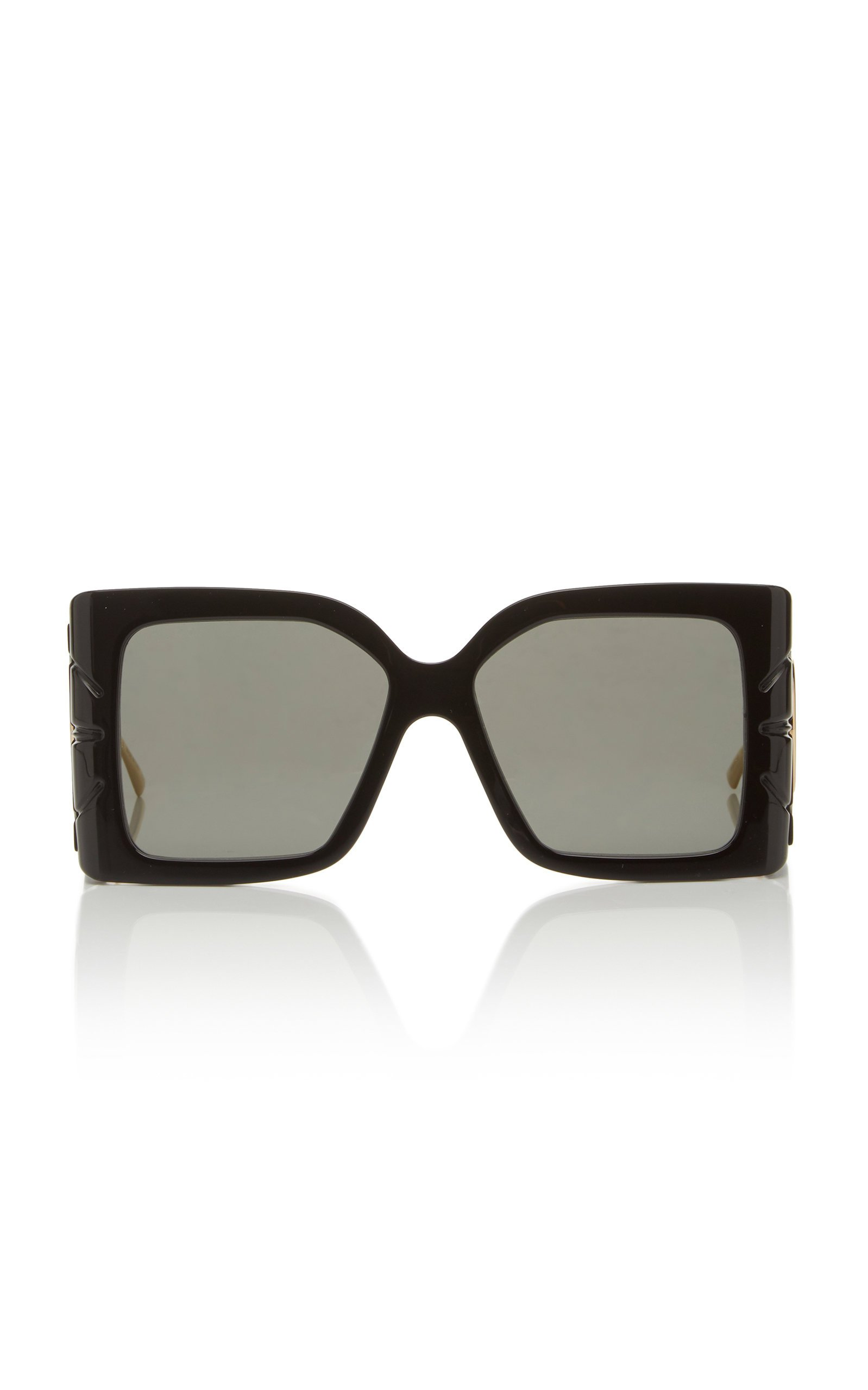 Gucci Sunglasses Acetate Oversized Square-Frame Sunglasses