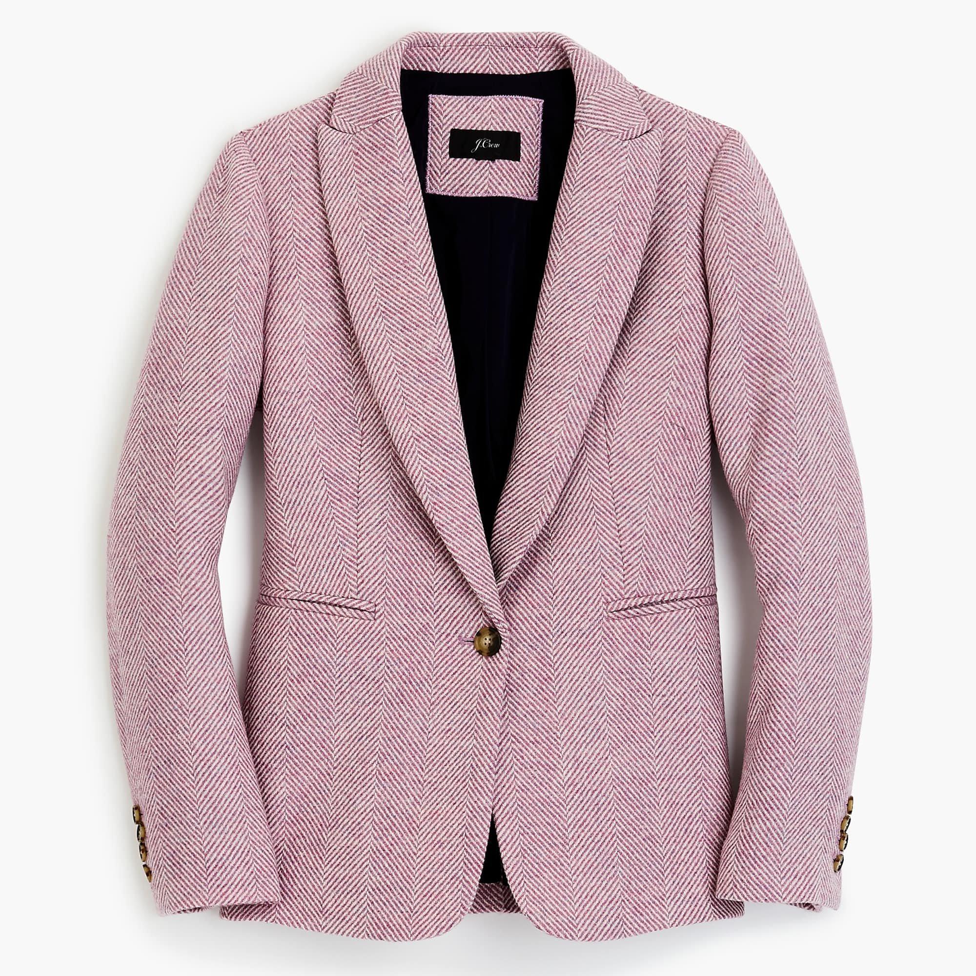J.Crew: Parke blazer in English herringbone wool