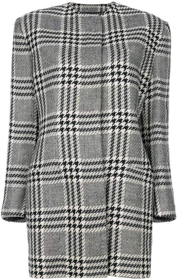 Pre-Owned houndstooth coat