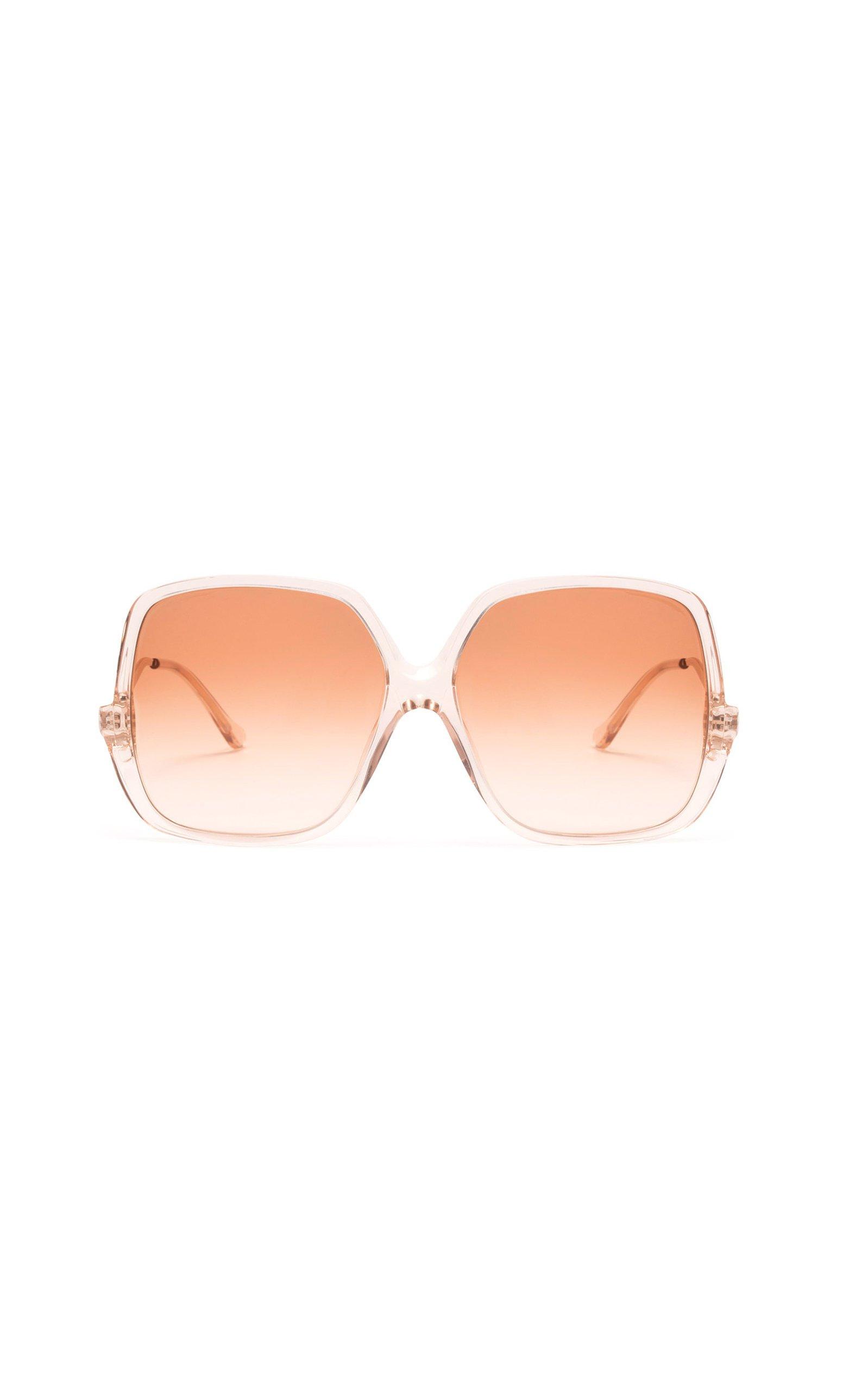 Velvet Canyon Sunday Brunch Oversized Square-Frame Sunglasses