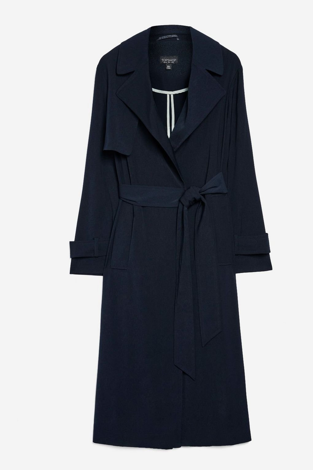 Silky Crepe Duster Coat - Jackets & Coats - Clothing - Topshop USA