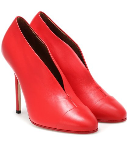 Refined Pin leather pumps