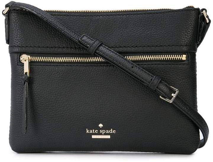 top zipped crossbody bag
