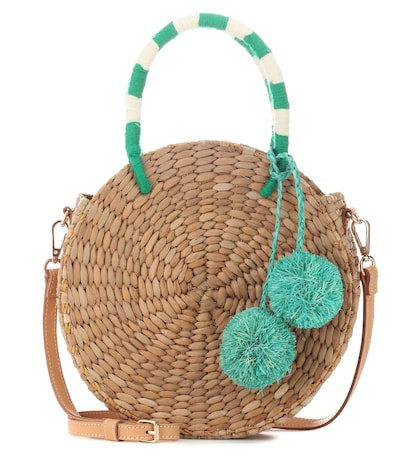 Isabel straw tote