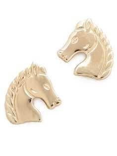 Horse Earrings - Pinterest