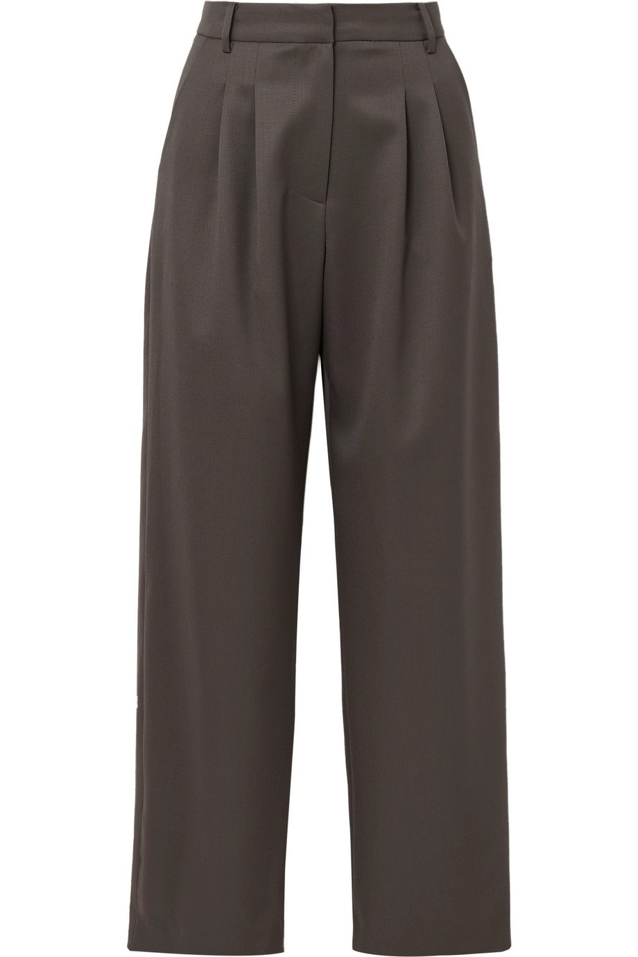 LOW CLASSIC | Wool-blend wide-leg pants | NET-A-PORTER.COM