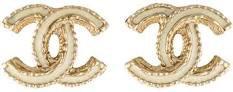 chanel earrings gold - Google Search