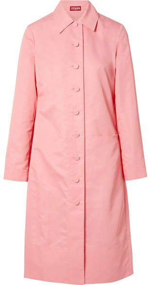 Maura Shell Trench Coat - Pink