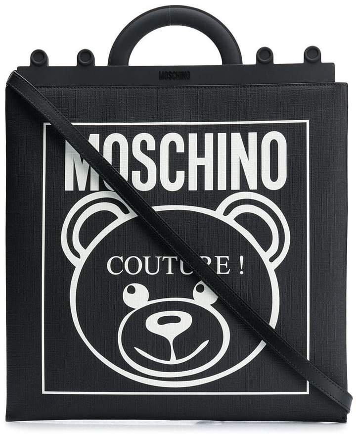 Teddy Label tote bag