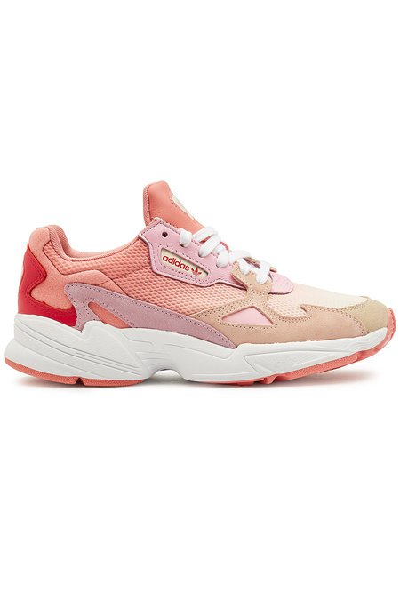 Adidas Originals - Falcon Sneakers with Suede and Mesh - pink