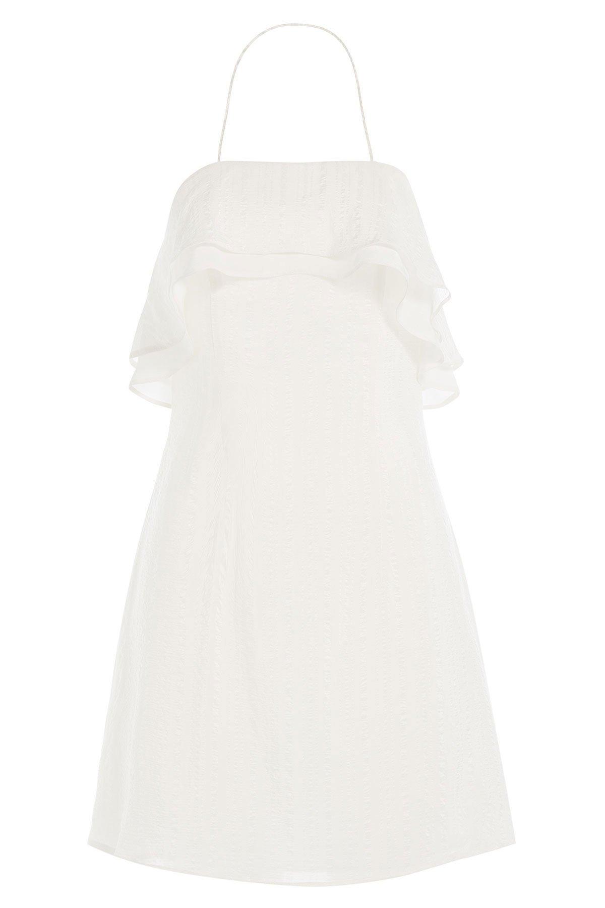 Silk Halter Neck Dress Gr. FR 38