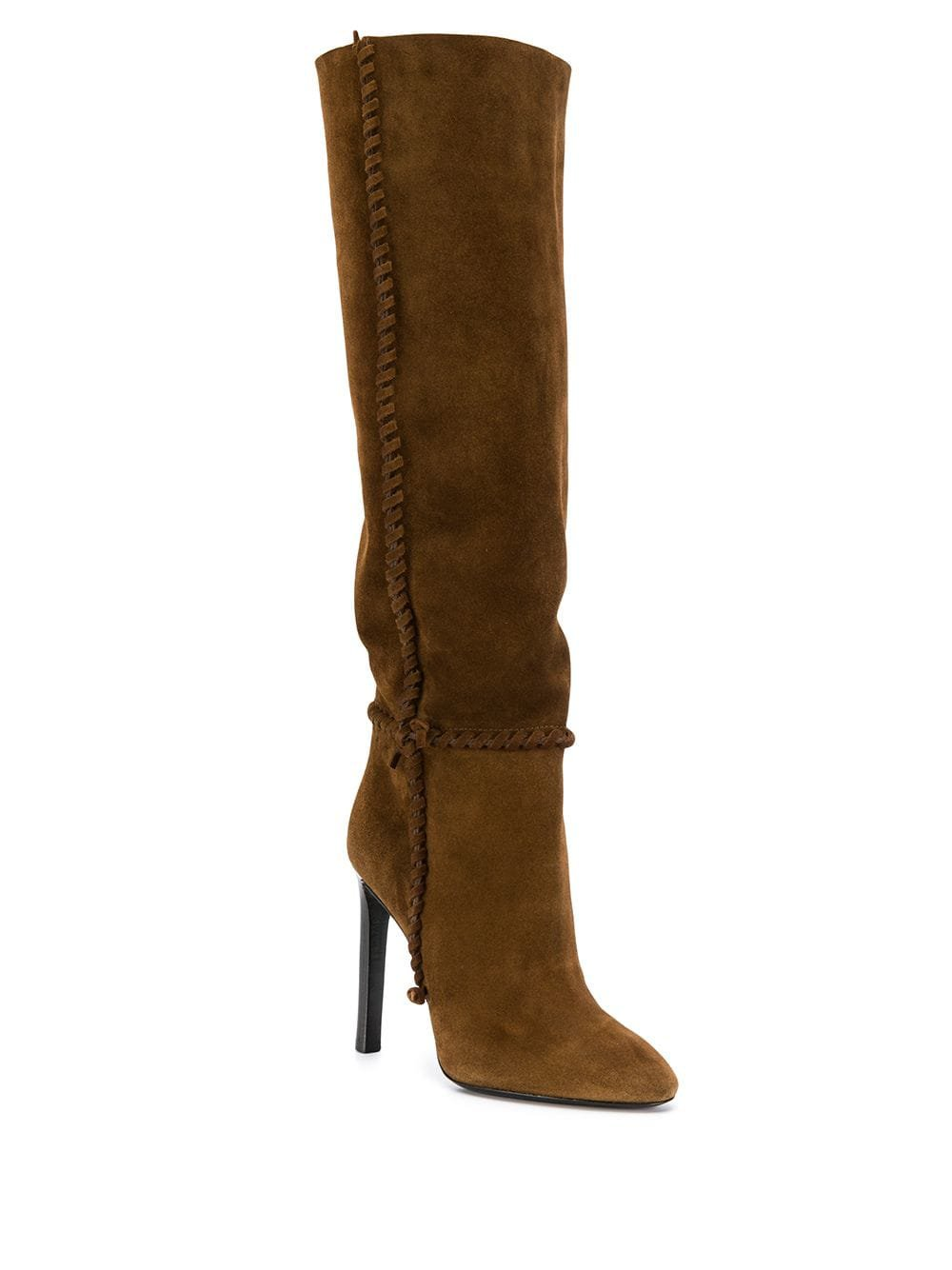 Saint Laurent Mica suede boots