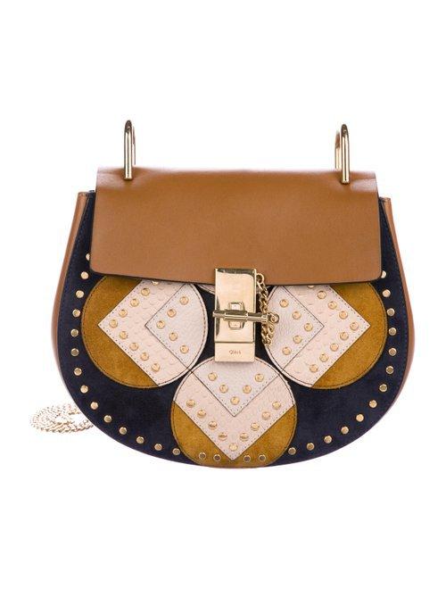 Chloé Studded Medium Drew Bag - Handbags - CHL89912   The RealReal