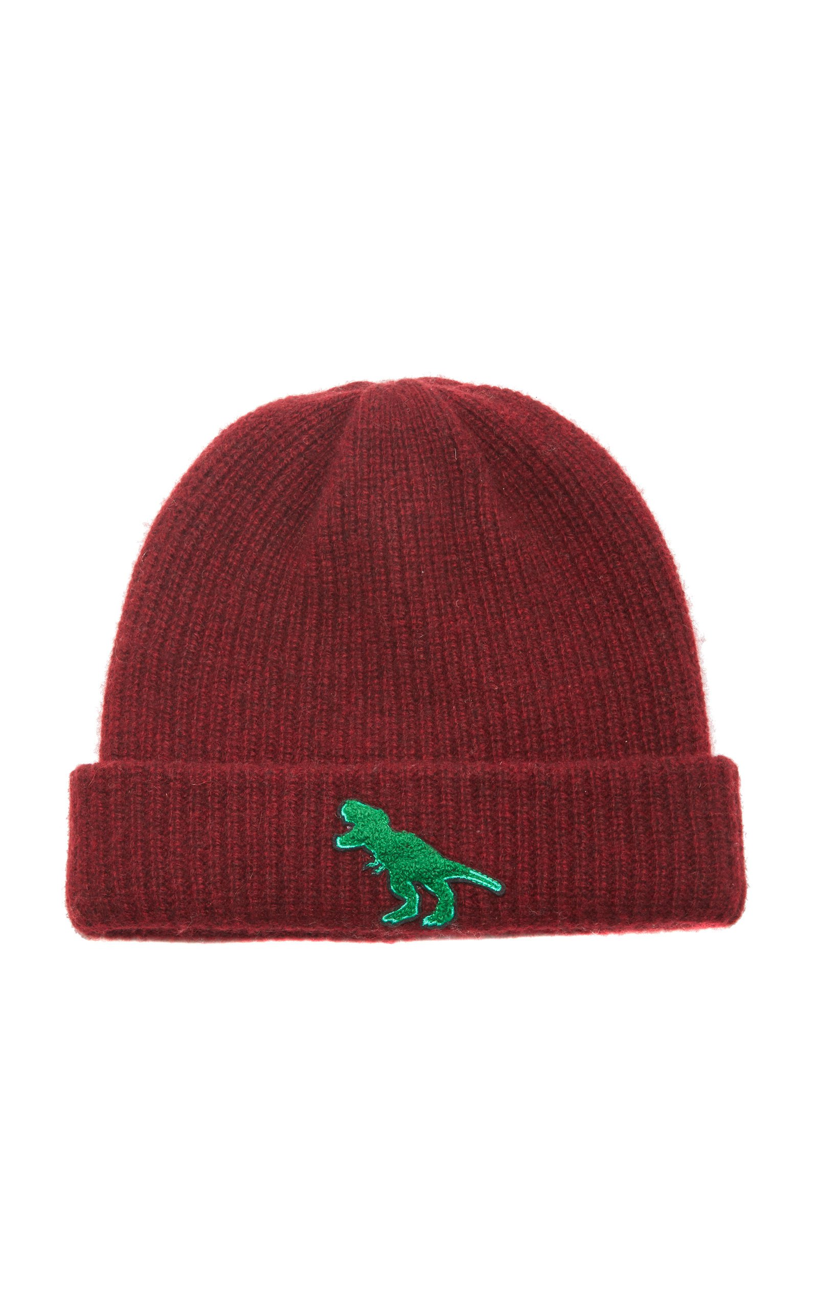 Watchman Embroidered Ribbed Cashmere Beanie by The Elder Statesman | Moda Operandi