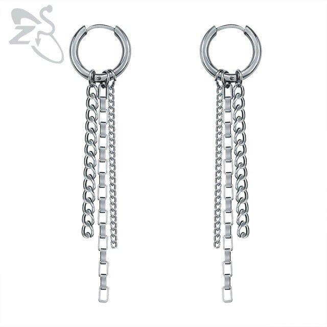 Hiphop Korean Drop Earrings Man Women Kpop Bts Jimin Dangle Earrings Bangtan Boy Silver Chains Tassel Earring Girls bts Jewelry-in Drop Earrings from Jewelry & Accessories on Aliexpress.com | Alibaba Group
