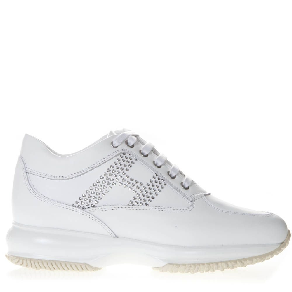Hogan Sneakers Interactive In White Leather